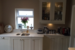 Crystal Salt Quartz Worktop, Upstands & Splashback