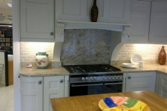 Astoria Ivory Granite Worktop, Upstands & Splashback