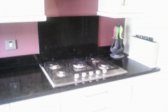 Indian Black Granite Worktop, Upstands & Splashback