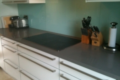 Twilight Grey Quartz Hob Section