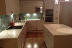 Sparkling White Quartz Worktop