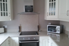 Crystal Zebra Quartz Worktop, Upstands & Splashback