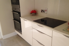 Crystal Reef Quartz Hob Section, Upstands & Splashback