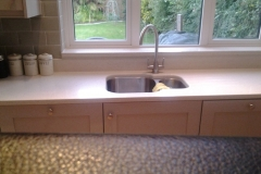 Crystal Reef Quartz Worktop, Upstands & Window Board