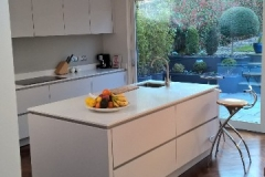 20mm Crystal Ivory Quartz Worktop & Upstands