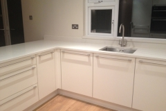 Crystal Salt Quartz Worktop, Upstands & Window Board