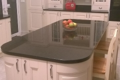 Black Pearl Granite Worktop & Upstands
