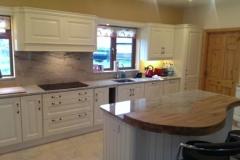 Astoria Ivory Granite Worktop, Upstands, Splashback & Window Boards