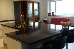 Black Pearl Granite Island Top