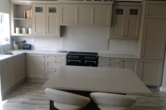 Crystal Pepper Quartz Worktop, Upstands, Splashback & Window Board