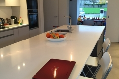 Artic Snow Quartz Worktop