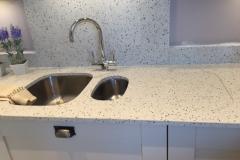 Crystal Pepper Quartz Worktop