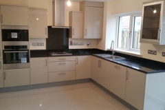 Black Pearl Granite Worktop, Upstands & Splashback