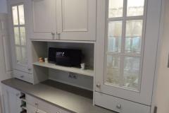 Sparkling Grey Quartz Dresser