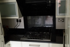 Indian Black Granite Worktop with Upstands & Splashback