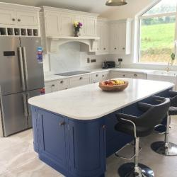 Venatino Quartz Worktop, Upstands & Splashback