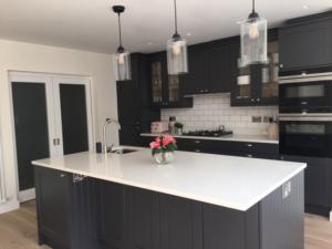 Carrara Quartz Worktop & Upstand