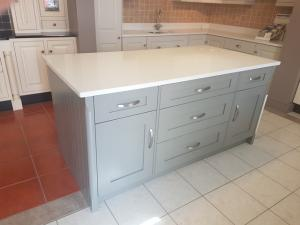 Carrara Quartz Island Top