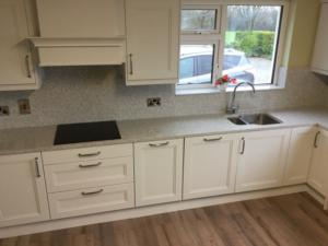 Castelo Quartz Worktop, Wall Cladding & Window Board