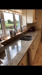 Astoria Ivory Granite Worktop & Upstands