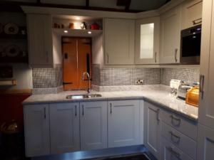 New Kashmir White Granite Worktop & Upstands