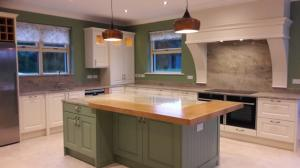Astoria Ivory Granite Worktop, Upstands, Splashback & Window Board
