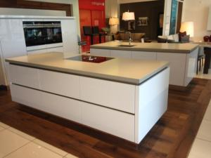 Honed Santenay Quartz Island Tops