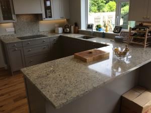 Moon Light Granite Worktop, Upstands & Splashback