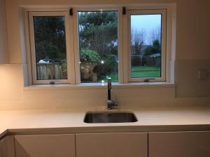 Crystal Salt Quartz Worktop, Upstands & Window Board