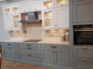 Botticino Classico Quartz Worktop, Upstands & Splashback