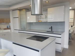 Grey Savoie Quartz Worktop & Cladding