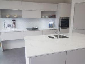 Venatino Quartz Worktop & Cladding