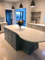 Crystal Pepper Quartz Worktop & Upstands